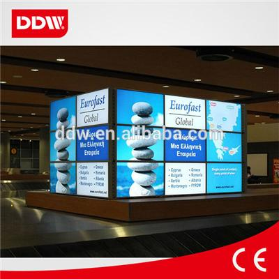 46Samsung Exhibition Adverting Video Wall 6.7mm ultra narrow bezel video wall screen