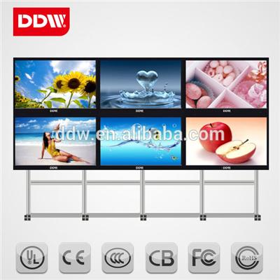 32inch LCD Multi Monitor Displays Signal interface rich RS232/HDMI/DVI/VGA/Y Pb Pr /AV