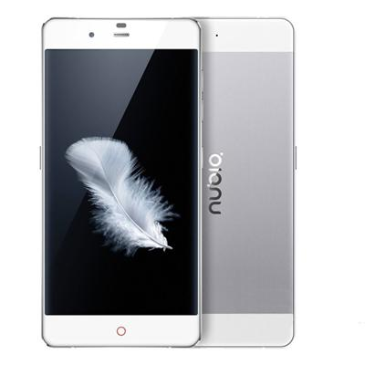 ZTE Nubia My Prague (Unlocked, 3G/16GB, Silver)