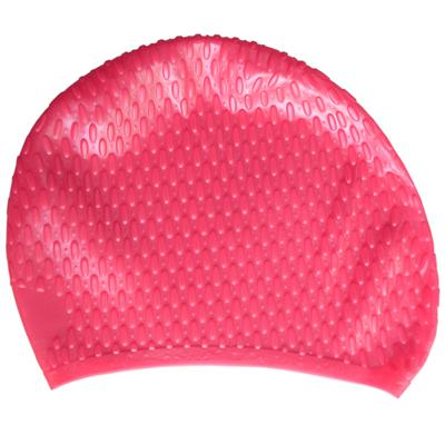 Waterdrop Bubble Swim Caps Made By 100% Silicone For Women
