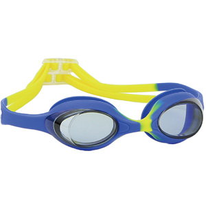 Multicolor Silicone Gasket Strap Once Formed Youth Swim Goggle