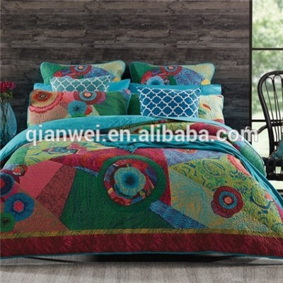 Microfiber 100% Polyester fabric Brushed fabric Pigment Printed Polyester Bedding Fabric