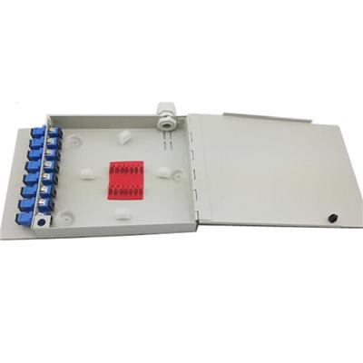 FTB108 Mini Wall Mount Fiber Optic Termination Box For FTTH