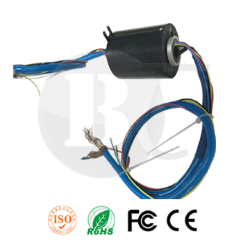 Vehicular slip rings/Gigabit Ethernet slip ring