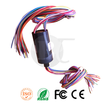 BTC025-30 Capsule Slip Ring 30 Wires Outdiameter 25mm