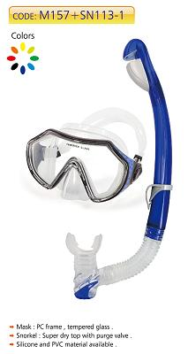 Silicone Adult Diving Set