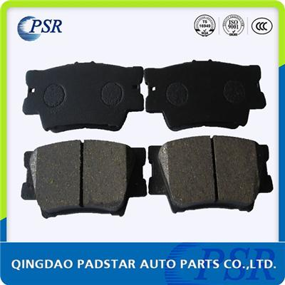 Ff Degree Disc Car Brake Pad D1212 For Toyota