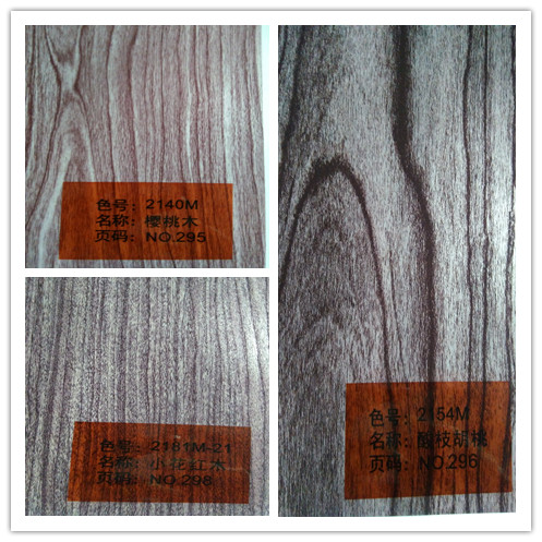 wood grain transfer film