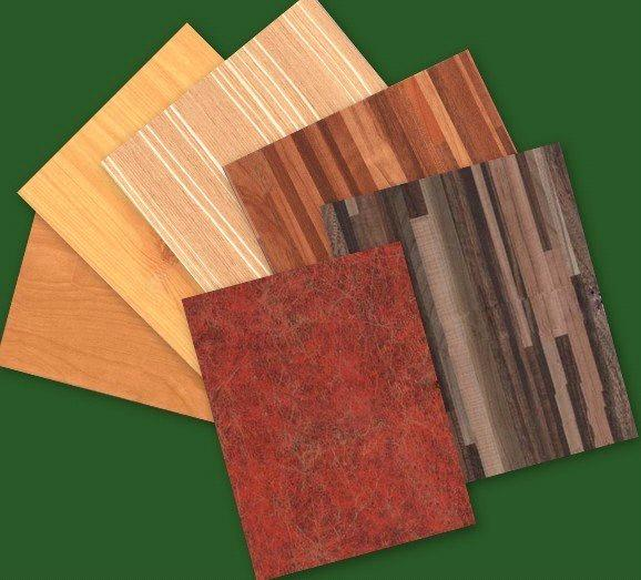 wood grain plastic decorate paper
