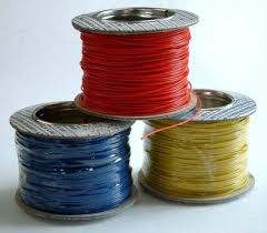 Electric wires with PVC insulated