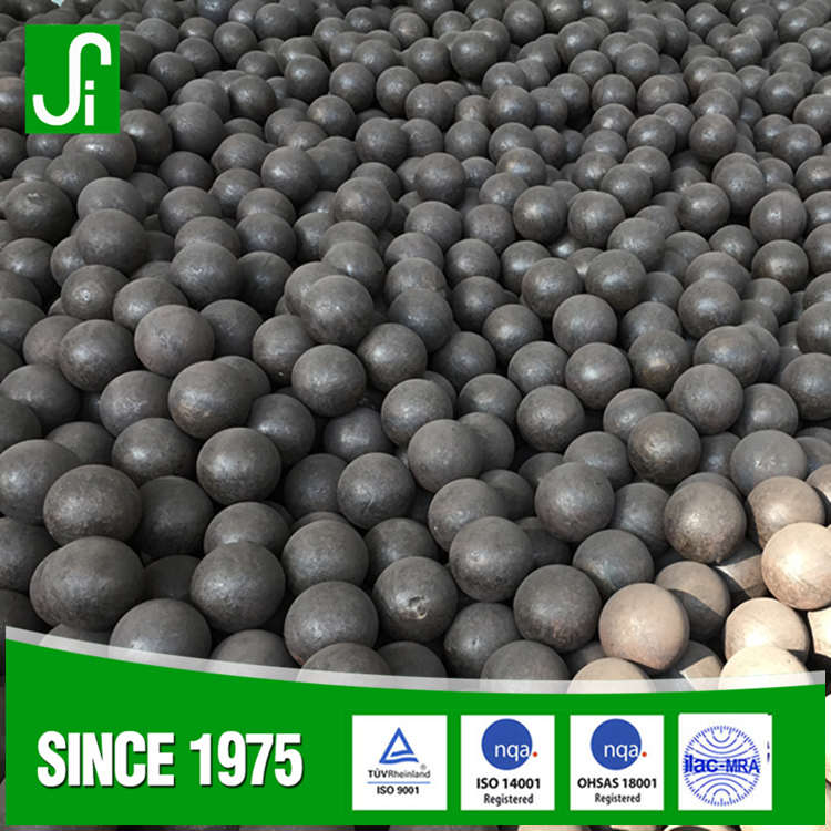Sino-Spain joint venture B2 forged grinding media carbon steel ball for mining