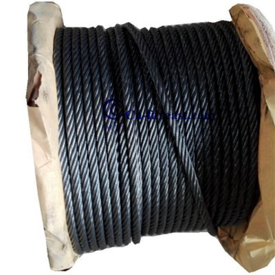 Ungalvanized Steel Wire Rope 6*31SW