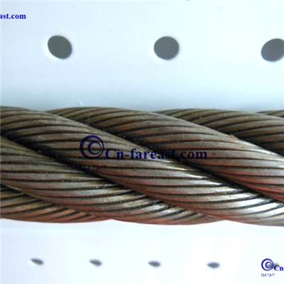Compacted Steel Wire Rope 6*K26Sw