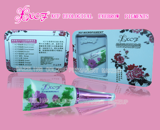 XCF embroidered tattoo too makup pigment liquid&cream micro pigmentition