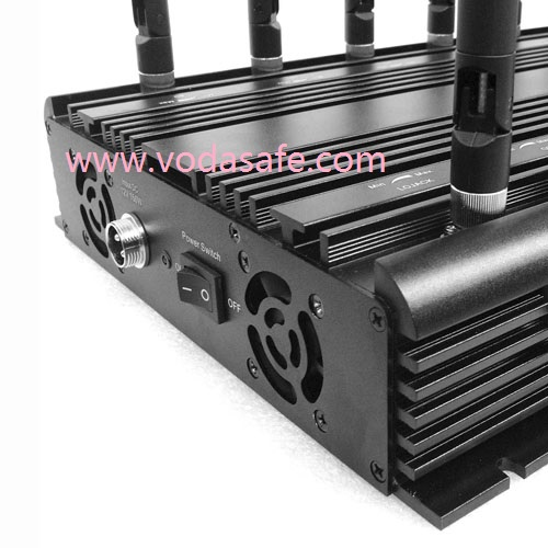 16 Antenna Jammer, Blocker for 3G 4G Cell Phone, Lojack 173MHz. RC433MHz, 315MHz GPS, Wi-Fi, VHF, UHF Radio Signal Jammer;