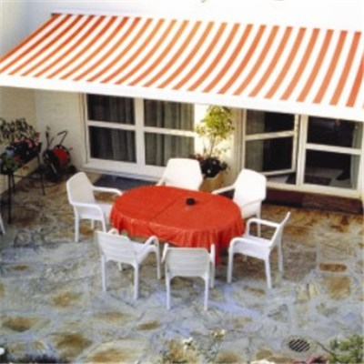 Luxury Motorized Full Cassette Retractable Awning