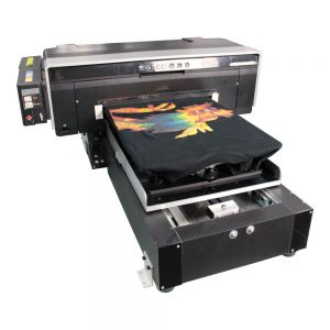 11.7 x 16.5 A3 Size Calca DFP2000 T-shirt Flatbed Printer with Rip Software