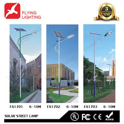 High PF And High Flux LED Solar Street Lamp FA17010203