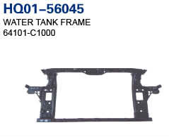 Sonata 2014 Radiator Support, Water Tank Frame, Panel (64101-C1000)