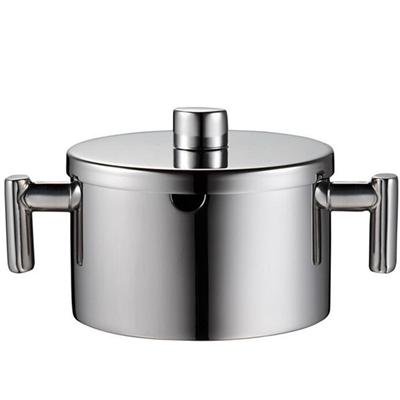 0.18 L Stainless Steel Sugar Bowl With Twin Hollow Handle