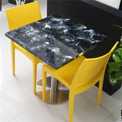 KKR Modern Design Kitchen Dining Table Set Kfc Table Chairs Used Restaurant Coffe Table And Chair