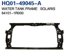 Accent 2011 Radiator Support, Water Tank Frame, Panel (64101-1R000, 64101-1R030)