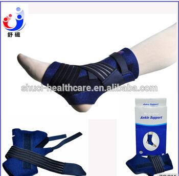 Adjustable neoprene waterproof ankle brace ankle splint support