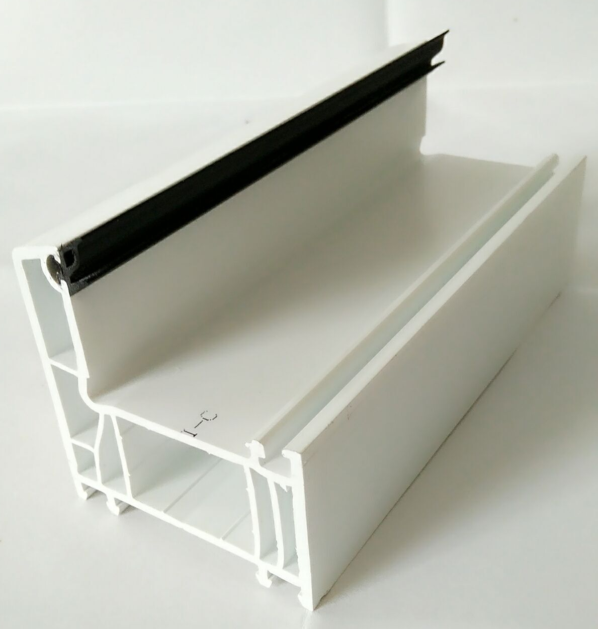 65mm series vinyl extrusion profiles for Plastic windows and doors