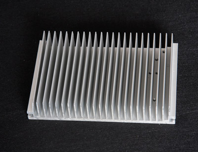 Customized Extruded Structural Aluminum Profile heatsink/Electronic Radiator
