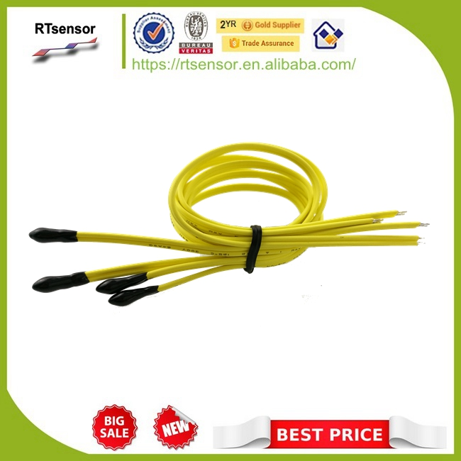 Car Temperature Sensor NSAD0303KC-331X Made Of NTC Thermistor 30K 3950 With Cable UL4411 24AWG 33cm Meet SAEJ-1128