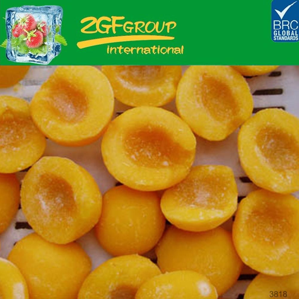 top sale brc frozen peaches organic bulk packing