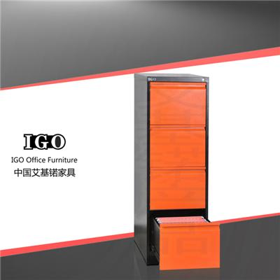 Top Quality Vertical 4 Drawers Steel Filing Cabinets