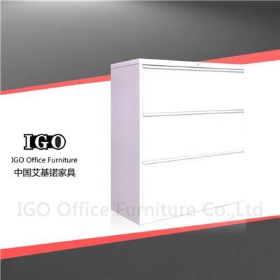 Hot Sale 3 Drawers Steel Lateral Filing Cabinet