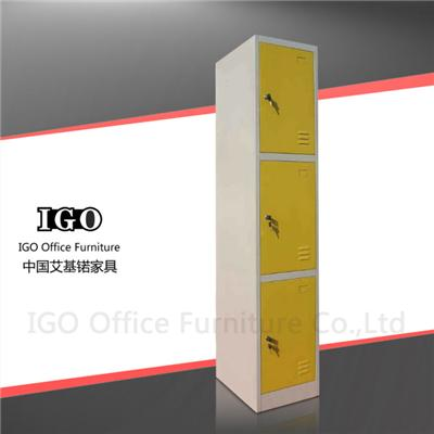 Cheap Metal Locker With 3 Doors China Manufacturer
