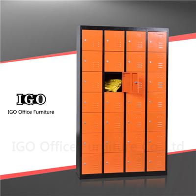 Top Quality Customized 28 Doors Metal Locker For Staff