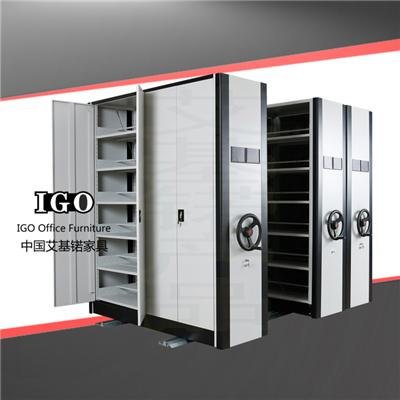 Customized Manual Mobile Shelving Mobile Shelf Compactor