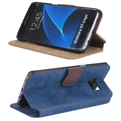 PU Leather Stand Smart Case Cover For Samsung Galaxy S6 Edge