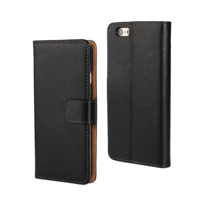 Flip Genuine Leather Wallet Case For Apple IPhone 7