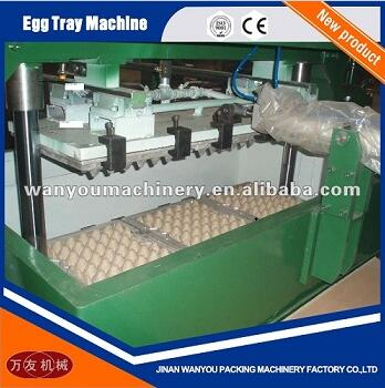 3Molds Paper Pulp Egg Tray Making Machine with Output of 1000pcs/hour For Sale