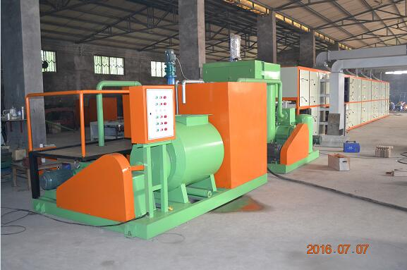 6 Molds Paper Pulp Egg Tray Making Machine with Output of 2000pcs/hour For Sale