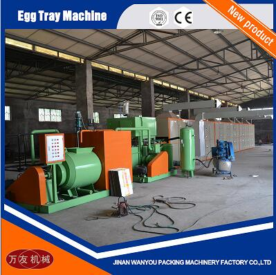 Computer Control Waste Paper Egg Tray/Fruit Tray/Egg Carton Making Machine Small Output