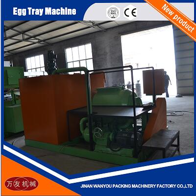 Durable Paper Pulp Egg Tray/Carton Making Machine with Aluminum Molds For Sale