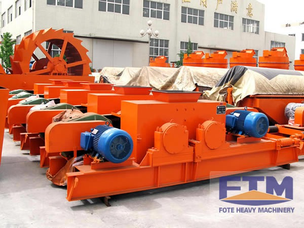 FTM Double Roll Crusher/Double Roll Crusher /Stone Crusher