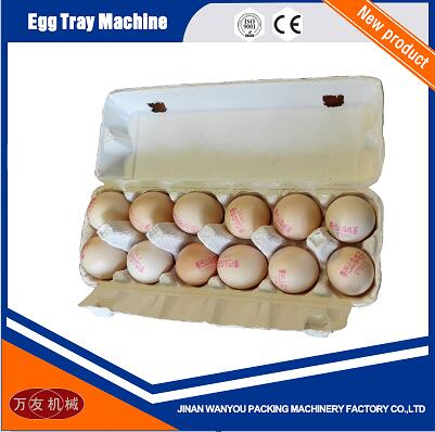 1000pcs/hour Paper Pulp Molding Egg Tray/Quail Tray Making Machine with Aluminum Molds For Sale