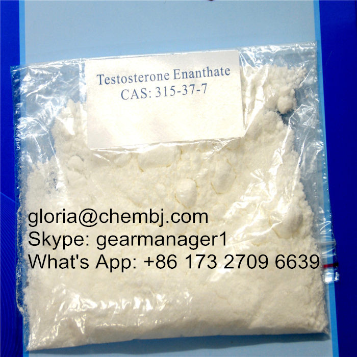98% min Testosterone Enanthate CAS 315-37-7 For Muscle Building
