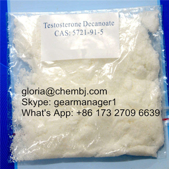 Effective Muscle Gain Testosterone Anabolic Steroid CAS 5721-91-5 Testosterone Decanoate