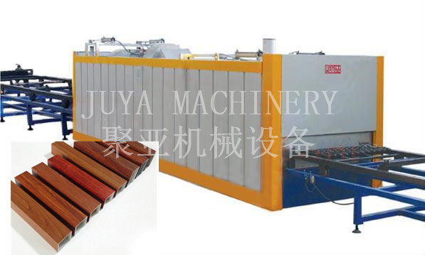 aluminum sheet wood grain transfer machine