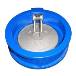 DIN3230 API598 cast iron wafer type single disc swing check valve