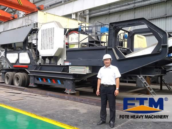 48Mobile crusher/Mobile Jaw Crushing Plant/Mobile Primary Crusher