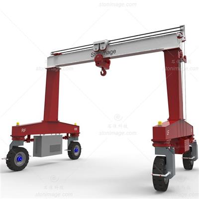 Mobile Gantry Crane Manufacturer, Single Beam Rubber Tyred Gantry Crane Design And Lifting Solution, Mobile Hydraulic Portal Crane Supplier
